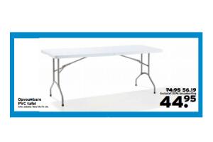 opvouwbare pvc tafel