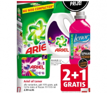 alle varianten ariel of lenor