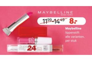 maybelline lippenstift