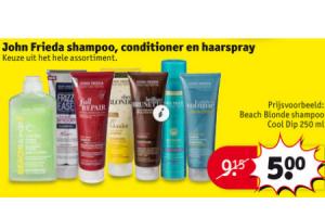john frieda shampoo conditioner en haarspray