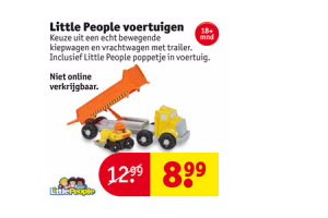 little people voertuigen