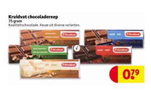 kruidvat chocoladereep