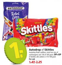 autodrop of skittles