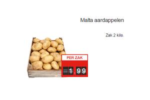 malta aardappelen