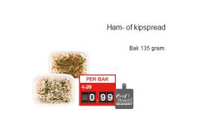 ham  of kipspread