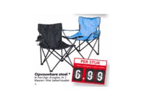 opvouwbare stoel