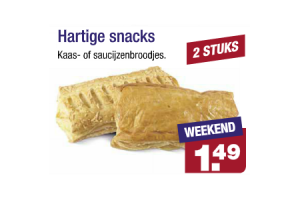 hartige snacks