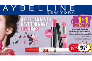 maybelline lipmake up assortiment