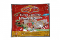 casa fiesta wrap tortilla whole wheat