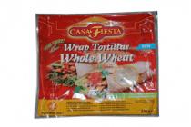 casa fiesta wrap tortilla whole wheat