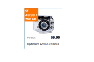 optimum action camera nu voor 69 99. Black Bedroom Furniture Sets. Home Design Ideas