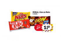 kitkat lion en nuts 6 pack