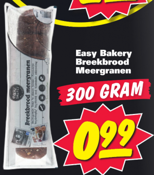 easy bakery meergranen breekbrood