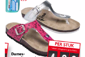 dames teenslippers