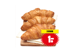 luxe roomboter croissants