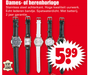 dames  of herenhorloge
