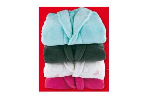 echte fleece badjas