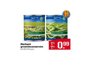 markant groenteconserven