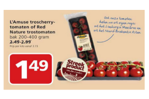 lamuse troscherrytomaten of red nature trostomaten