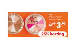 etos bronzing powder of blush powder
