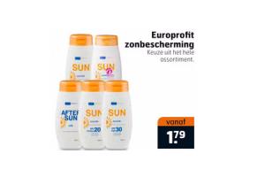 europrofit zonbescherming