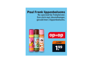 paul frank lippenbalsems