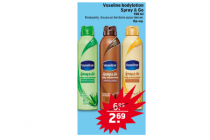 vaseline bodylotion spray  go