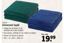 ordex universeel tapijt