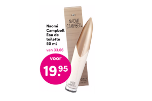 naomi campbell eau de toilette 50 ml