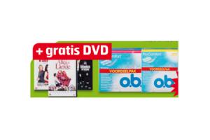 o.b. voordeelpak met dvd