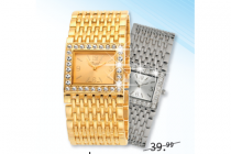 regal horloge goud of zilver