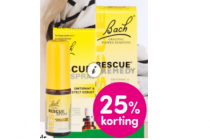 bach rescue druppels en spray