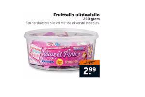 fruittella uitdeelsilo