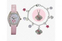 ravel roze horloge