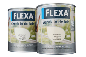 flexa strak in de lak
