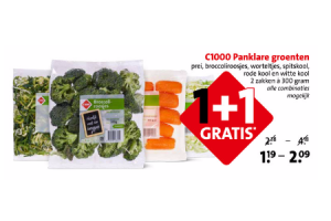 c1000 panklare groenten
