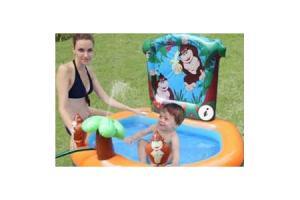 opblaasbaar zwembad aap