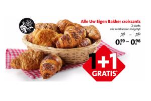alle uw eigen bakker croissants