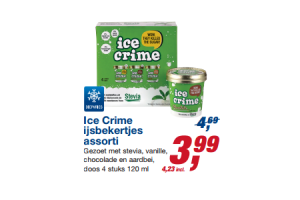 ice crime ijsbekertjes assorti