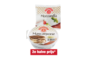 auricchio mozzarella mascarpone of ricotta