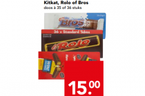 kitkat rolo of bros