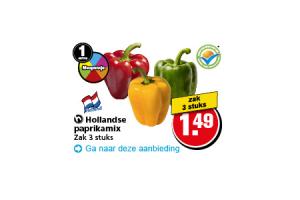 hollandse paprikamix