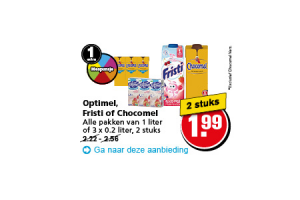 optimel fristi of chocomel