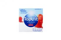 topvit probiotische yoghurt aardbei 4x125g