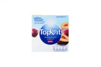 topvit probiotische yoghurt pruim 4x125g