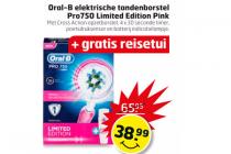 oral b elektrische tandenborstel pro750 limited edition pink