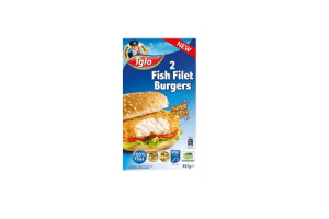 iglo fish filet burger 2 stuks