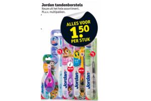 jordan tandenborstels