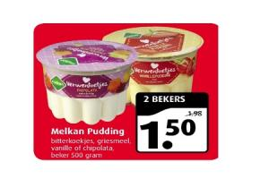 melkan pudding