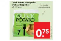 biologische kriel aardappeltjes